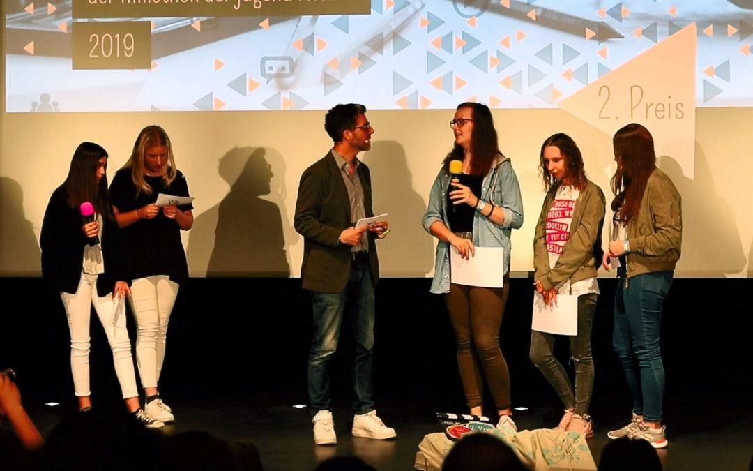 UNVERGESSEN bleibt unvergessen – Medien-AG auf dem 2. Platz