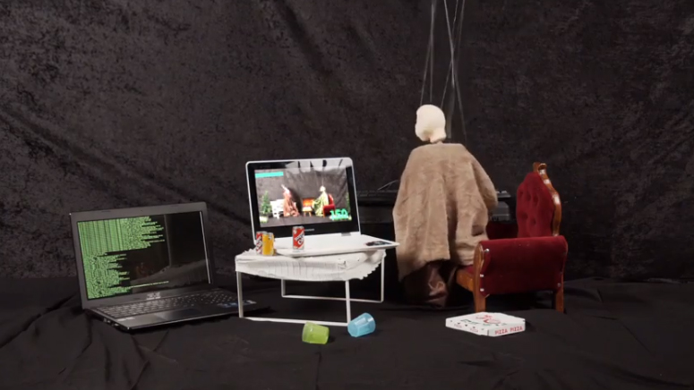 Gameralarm 4.0 – Marionettenprojekt an der AWS