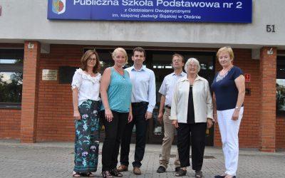 Arnsberger Delegation nimmt an Olesno-Tagen teil – Vertreterinnen der AWS treffen sich mit polnischer Partnerschule