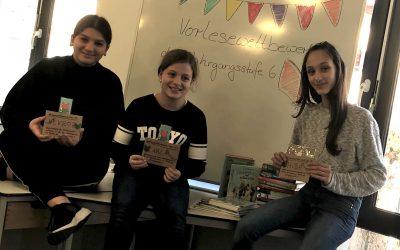 Vorlesewettbewerb – AWS-Schülerin nimmt am Kreisentscheid teil
